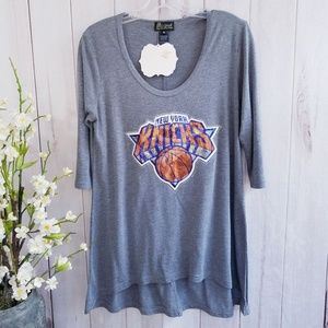 Gameday Couture New York Kicks Tunic Medium NWT